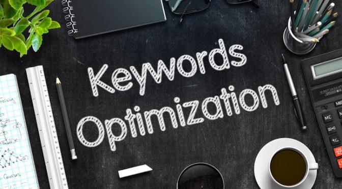 create a keyword list that works
